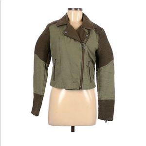 Wilfred FREE Alana linen moto jacket M